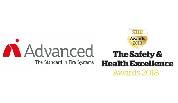 Advanced Awarded Highly Commended Award For Service Excellence At The Safety And Health Excellence Awards 2018
