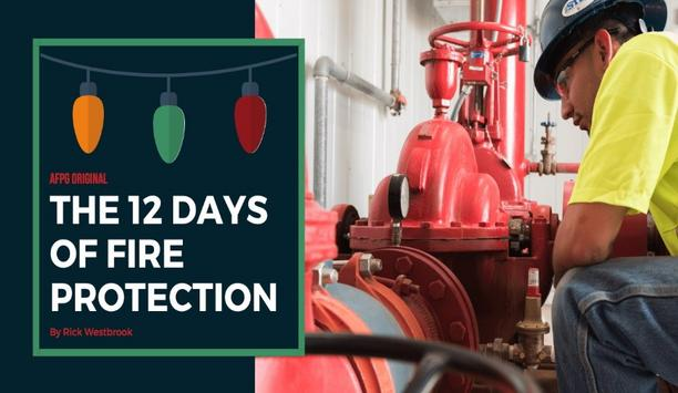 AFPG Shares A Series of Post Titled 12 Days Of Fire Protection