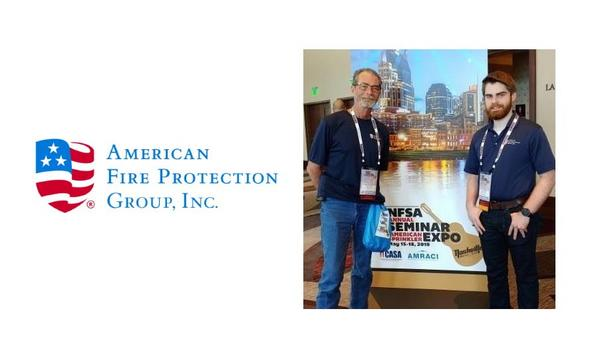 AFPG Engineer, Luther Pringle Placed In Top 10% Of The National Fire Sprinkler Association's Design Technician Competition