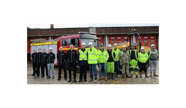 Avon Fire & Rescue Service (AF&RS) And Knights Brown Break Ground On New £4m State Of The Art Fire Station