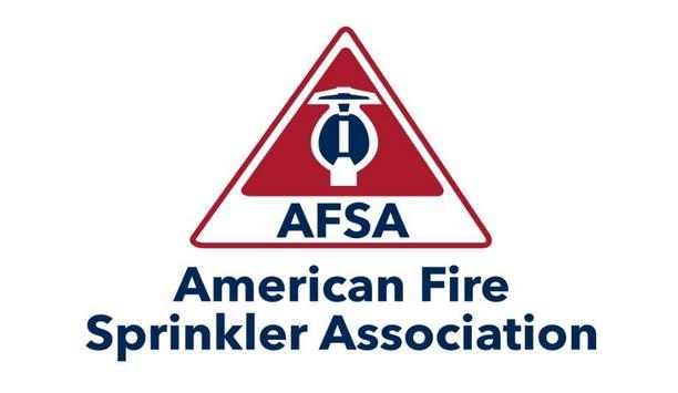 American Fire Sprinkler Association Named Exclusive Sprinkler Partner Of Homes For Our Troops