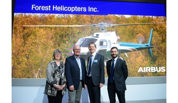 Airbus Helicopters Canada provides H125 helicopter to Forest Helicopters to enhance fire suppression