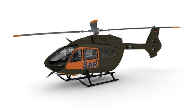 Airbus Provides Seven H145 Helicopters To The Federal Office Of Bundeswehr