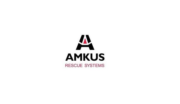 Firefighters From Bethesda-Chevy Chase Rescue Squad Use Amkus Tools For Fire Rescue