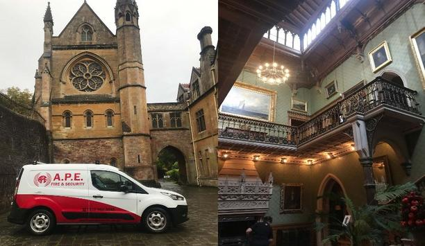 A.P.E Fire & Security Installs Fire Alarm And Aspiration Systems At The Gothic Style Tyntesfield House