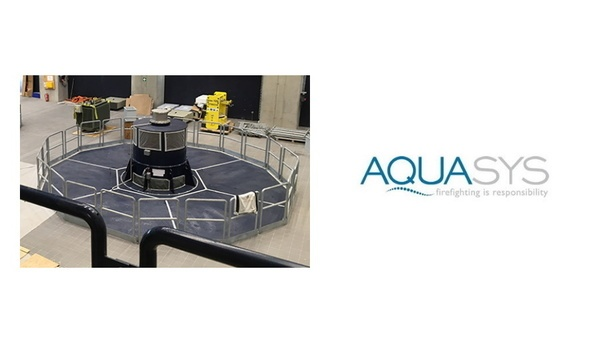 AQUASYS Installs High-Pressure Water Mist Fire Fighting System For A Power Plant On The Inn River