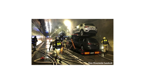 AQUASYS High Pressure Water Mist System Prevents Damage After Tunnel Fire In Arlberg Tunnel