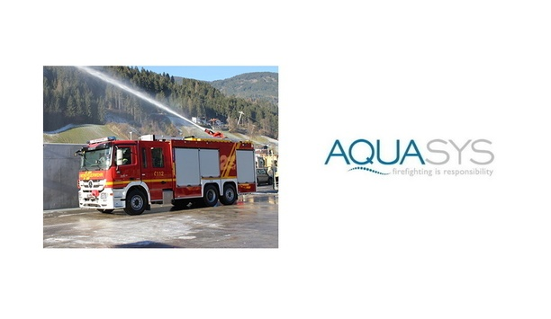 AQUASYS Provides TLF-A 5000 Fire Fighting Vehicle To The Voestalpine Fire Brigade