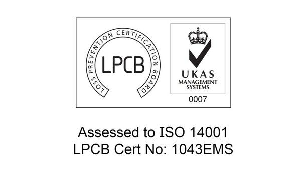 Application Solutions (Safety And Security) Ltd (ASL) Announce That The Company Has Achieved ISO 14001:2015 Certification