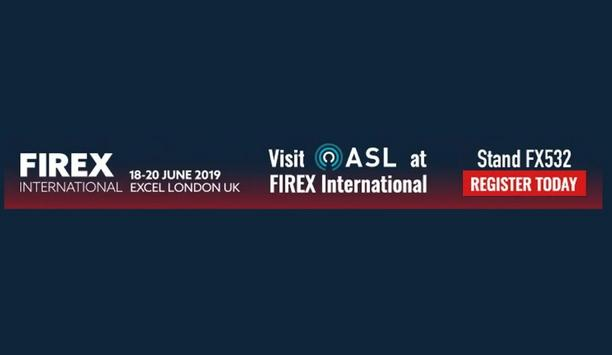 ASL Announces That The Company Will Be Exhibiting Their Products At FIREX International 2019