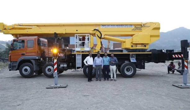 Assam Bombay Carriers Takes Delivery Of Bronto Skylift S70XDT Aerial Platform, First Locally Mounted Platform In India