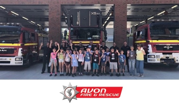 Avon Inspires Children Affected By The Chernobyl Disaster By Inviting Them At Temple Fire Station For Fun Activities