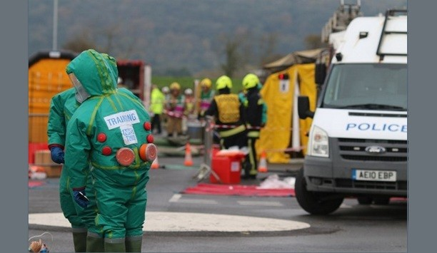 Avon Fire And Rescue Takes Part In Multi-Agency Training Exercises To Counter CBRNe Outbreak