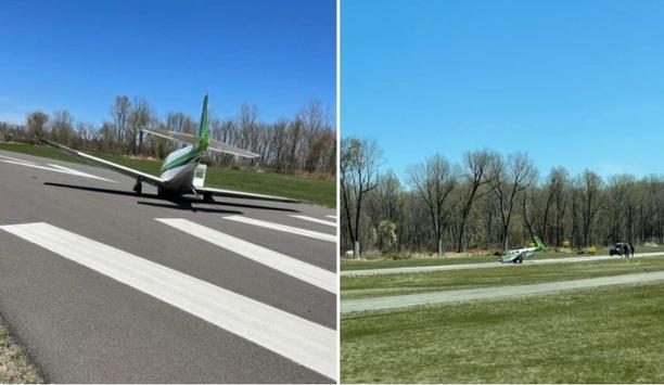 E811B Responds To Plane Crash At College Park Airport