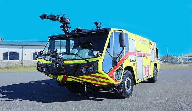 E-One® Delivers Four Titan® Air Transportable ARFF Vehicles To Canada's Department Of National Defense