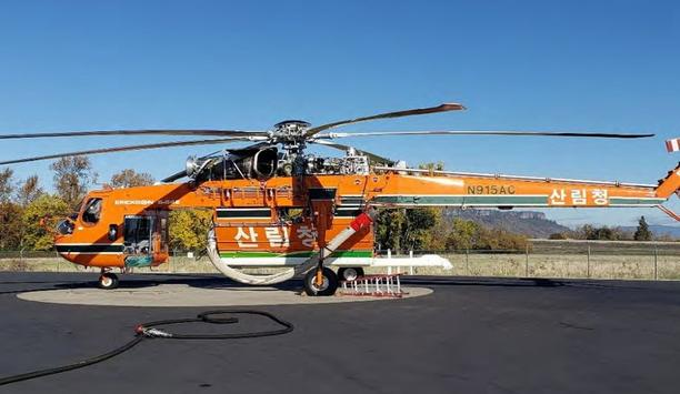Erickson Completes Delivery For The Korean Forest Service