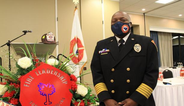 CRFD Fire Chief Aubrey D. Jenkins Becomes New President Of The SC State Association Of Fire Chiefs