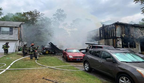 CRFD Responds To 2 Fire Alarms Which Damage 3 Homes In Richland County