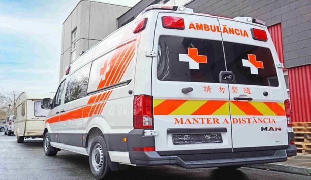 C. Miesen Gmbh & Co. KG Delivers A New Ambulance Vehicle On MAN TGE 4x2 For Macau