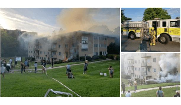 Branchville Fire Department's E811 Responds To Box Alarm