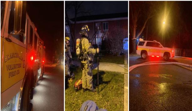 Branchville Fire Department's Company 11 Responds To Hyattsville Box