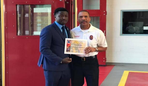 Branchville's Malik Alexander Awarded To Help Rescue A Critically Injured Person