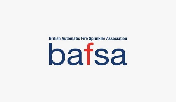 BAFSA Announces Development Of Fire Sprinkler Installer Competence Through Qualification
