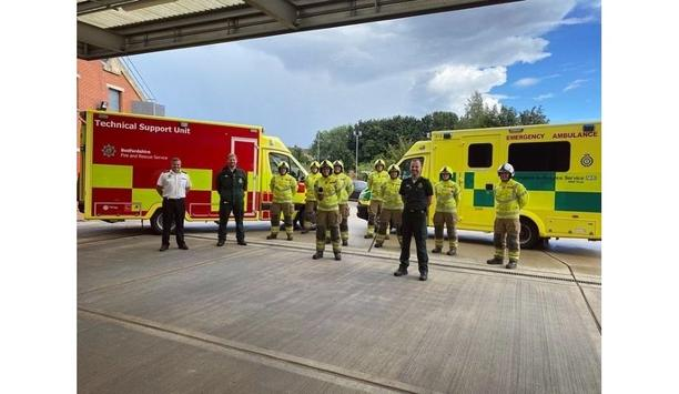 Bedfordshire Fire And Rescue Service Launches A New Technical Support Unit At Dunstable Fire Station