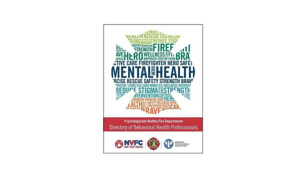 NVFC Releases Directory Of Behavioral Health Professionals For First Responders' Mental Well-Being