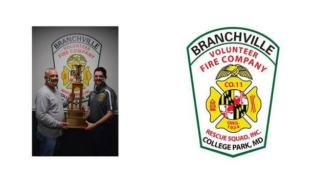 Branchville Volunteer Fire Company Receives Firemen's Training And Ambulance/Squad Of The Year Awards