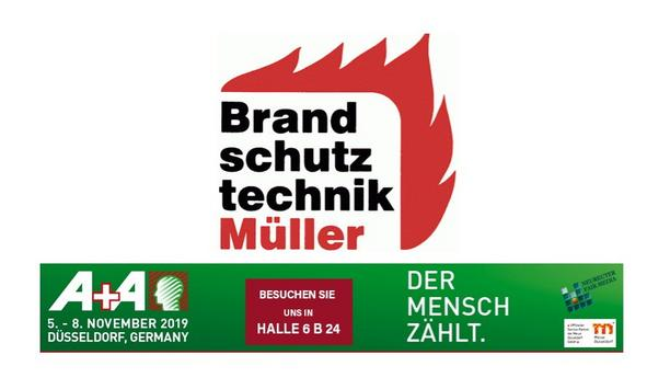 Brandschutztechnik Müller To Showcase Testing Device For Water And Foam Extinguishers, FES Liquid Stationary At A+A 2019 Trade Event