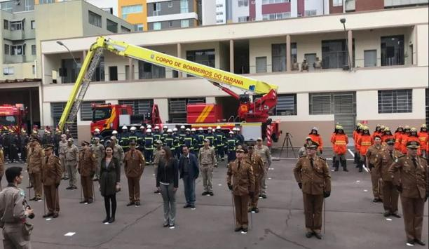 Bronto Skylift Provides F54HDT Aerial Platform To A Fire Department In Curitiba On National Firefighter's Day