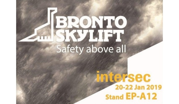 Bronto Skylift To Showcase F90HLA Aerial Platform At Intersec 2019
