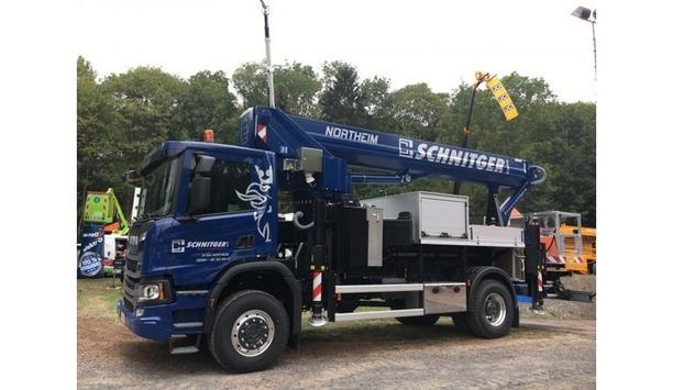 Bronto Skylift Unveils The Latest S35EM Truck Mounting Vehicle Platform