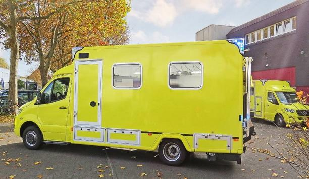 C. Miesen GmbH & Co. KG Manufactures Two New Intensive Care Vehicles For RAVU Ambulancezorg Utrecht