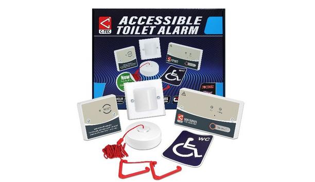 C-TEC Has Released An Updated Version Of NC951 Accessible Toilet Alarm Kit