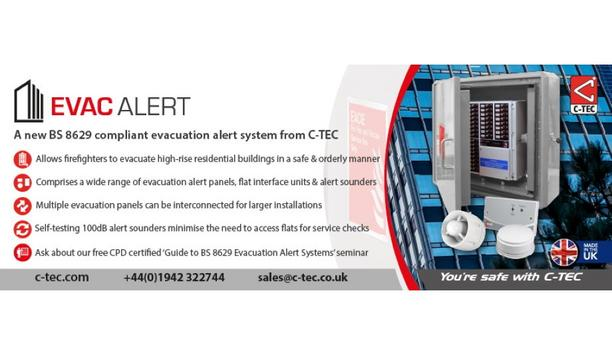 C-TEC Deploys Its Advanced CAST ZFP Fire Alarm System To Secure 'The Bear' Hospitality Venture In Cheshire, UK