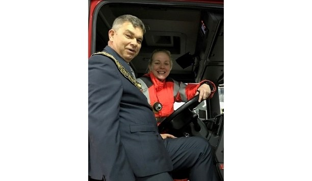 Cambridgeshire Fire Service's Officers Assess Vicky Vata To Become The First Female Emergency Incidents Incharge