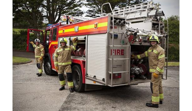 Cornwall Fire And Rescue Service Equip With Bristol Uniforms' New Structural Firefighting PPE