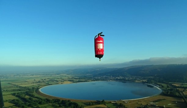 Chubb's Iconic Fire Extinguisher Balloon Will Take-off At The Bristol International Balloon Fiesta