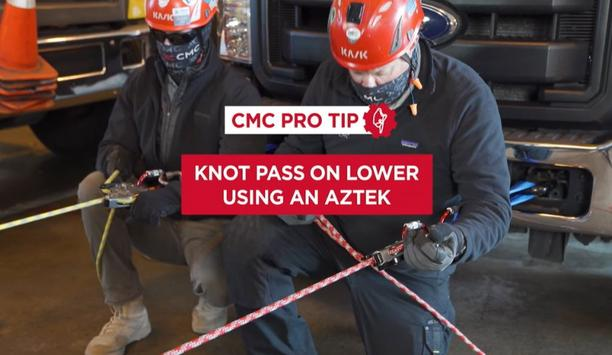 CMC Shares A Pro Tip On How To Pass A Knot On Lower Through The CLUTCH Using An AZTEK