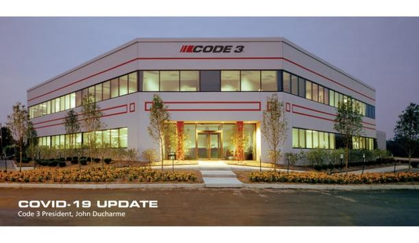 Code 3 And ESG (ECCO Safety Group) To Continue Supplying Emergency Equipment During COVID-19 Pandemic