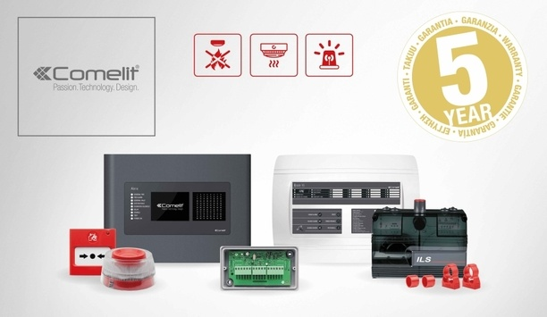 Comelit Offers Five-Year Guarantee On Complete New Range Of Fire Detection Solutions