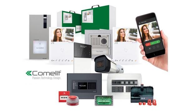 Comelit Group To Showcase Their Smart Security And Fire Safety Systems For Residential And Commercial Premises At The Security Event 2021