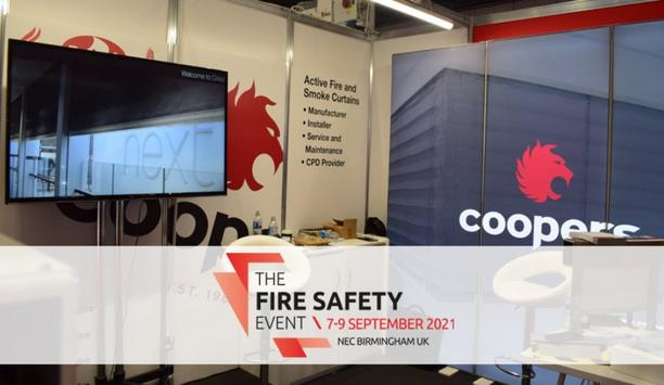 Coopers Fire Are Exhibiting At The Fire Safety Event 2021