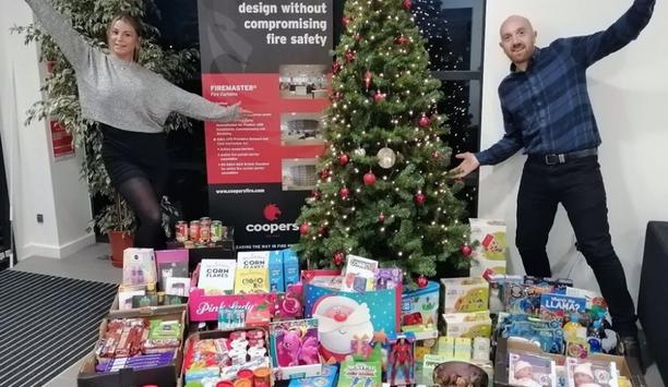 Coopers Fire Christmas Appeal Running A Collection For Waterlooville Food Bank