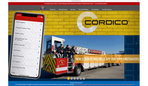 Spokane Valley Fire Launches New Cordico App For Firefighters Health And Wellness
