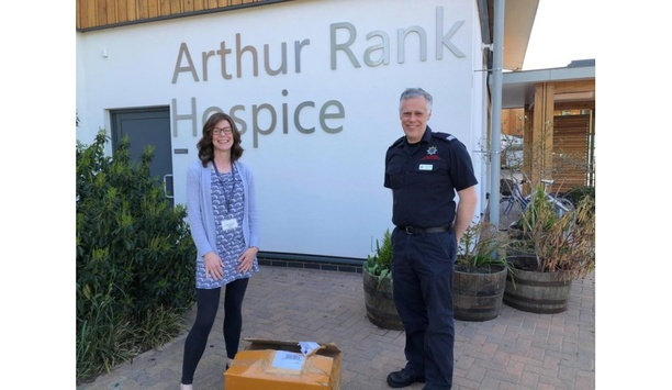 Cottenham Firefighter Roger Pake Rallies Local Community To Donate N-95 Face Masks To Arthur Rank Hospice Charity