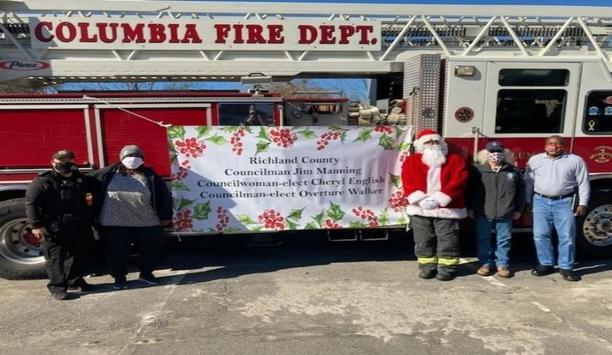 CRFD Spreads Holiday Cheer With Santa Rides