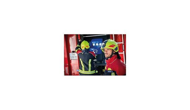Rosenbauer Launches HEROS H30 Smart Firefighting Helmet